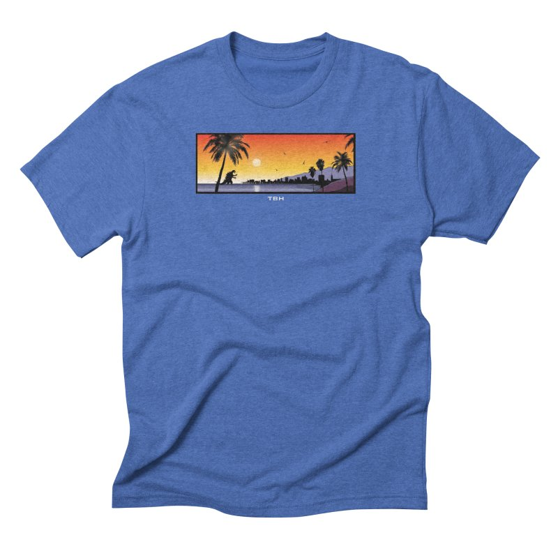 GODZIlla Men's Triblend T-shirt by TBH805
