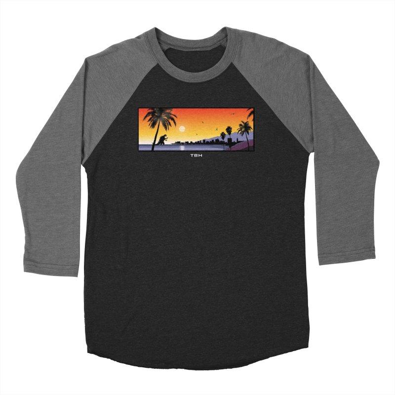 GODZIlla Men's Baseball Triblend T-Shirt by TBH805