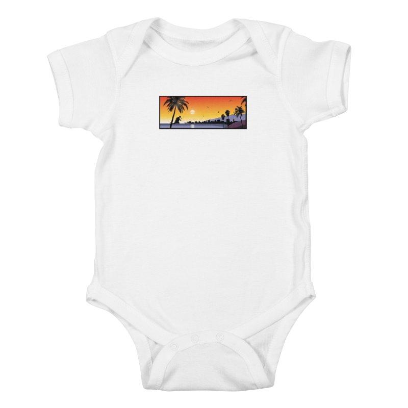 GODZIlla Kids Baby Bodysuit by TBH805