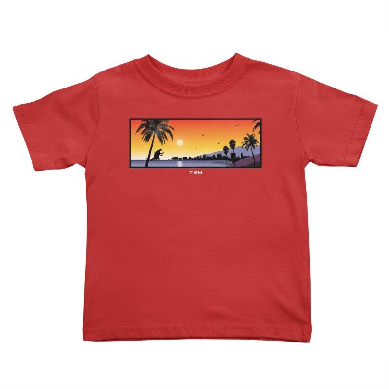 GODZIlla Kids Toddler T-Shirt by TBH805
