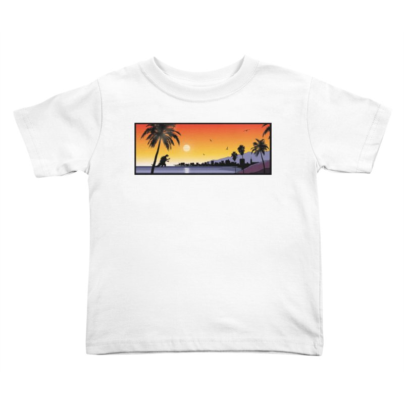 GODZIlla Kids Toddler T-Shirt by TBH805