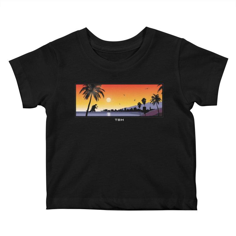 GODZIlla Kids Baby T-Shirt by TBH805