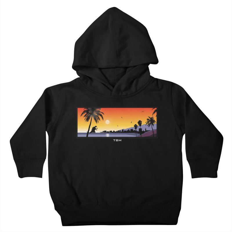 GODZIlla Kids Toddler Pullover Hoody by TBH805