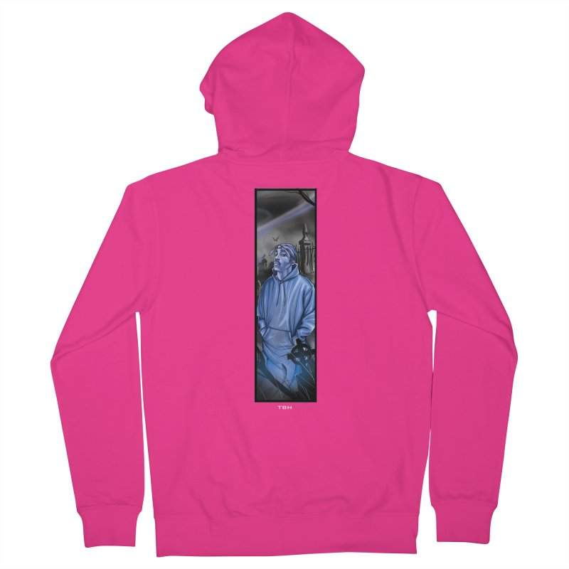 PACS GHOST Men's French Terry Zip-Up Hoody by TBH805