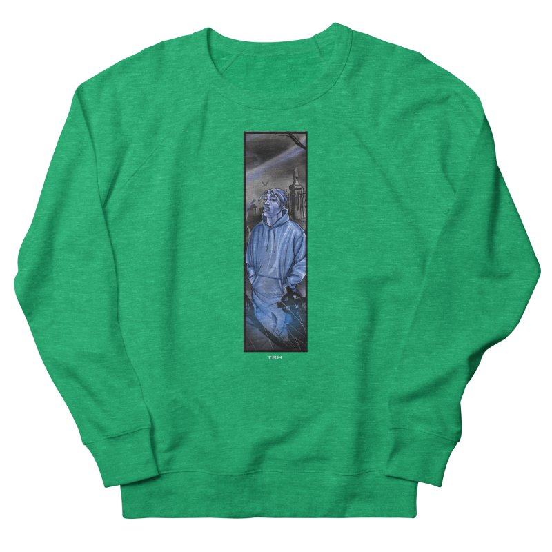 PACS GHOST Men's French Terry Sweatshirt by TBH805