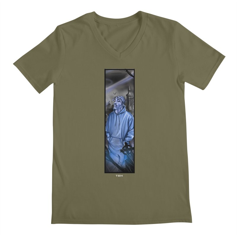 PACS GHOST Men's V-Neck by TBH805