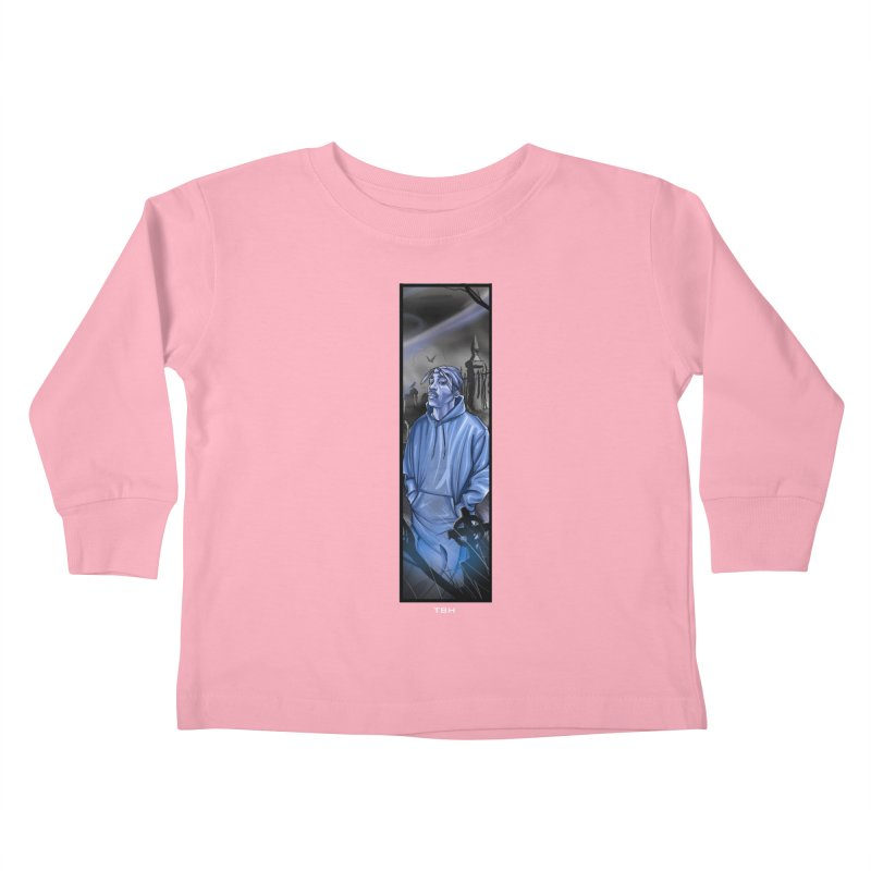 PACS GHOST Kids Toddler Longsleeve T-Shirt by TBH805