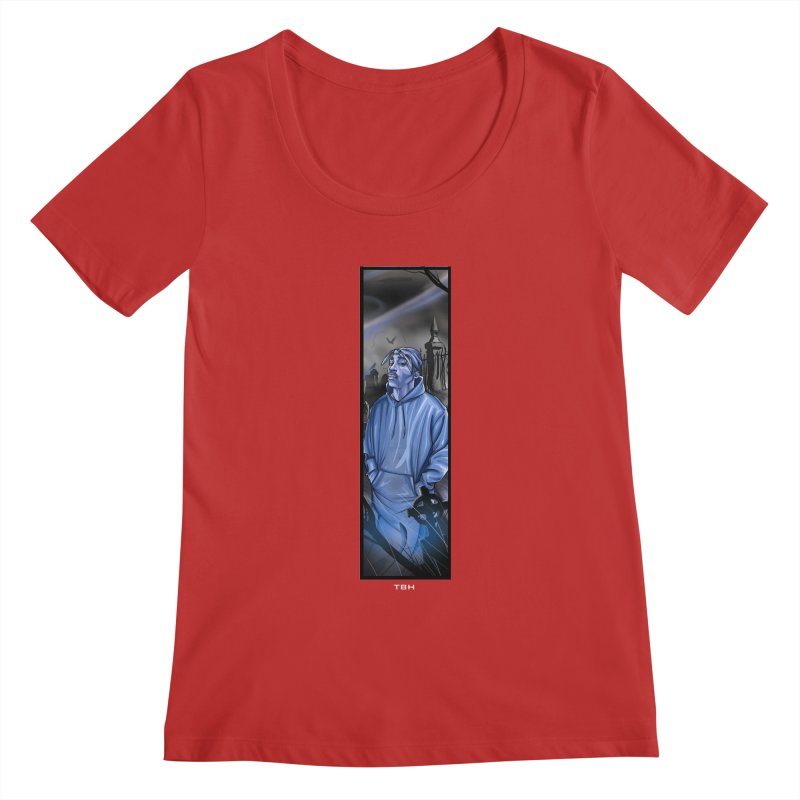 PACS GHOST Women's Scoopneck by TBH805