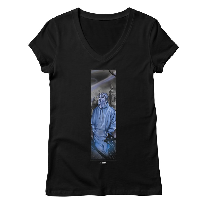 PACS GHOST Women's Regular V-Neck by TBH805