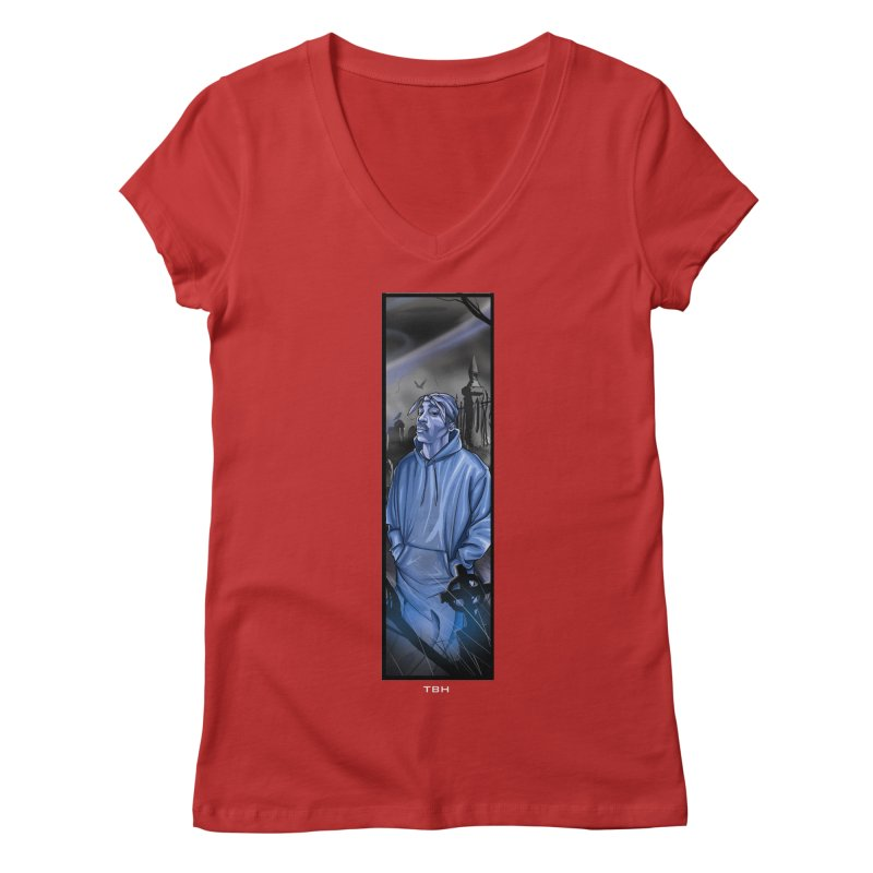 PACS GHOST Women's V-Neck by TBH805