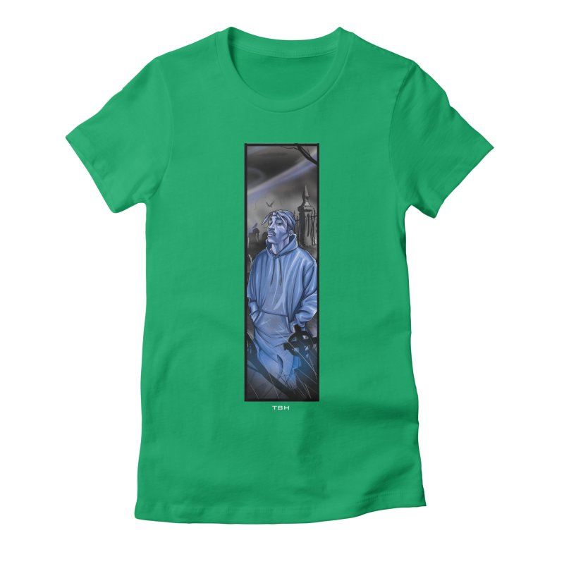 PACS GHOST Women's Fitted T-Shirt by TBH805