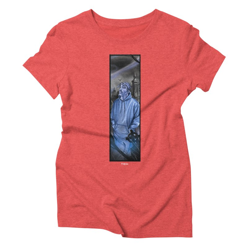 PACS GHOST Women's Triblend T-Shirt by TBH805