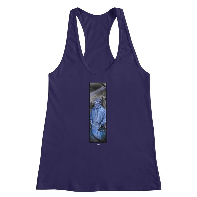 PACS GHOST Women's Racerback Tank by TBH805