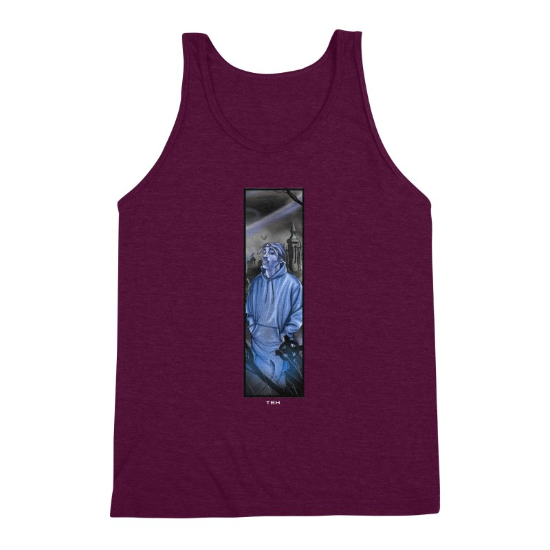 PACS GHOST Men's Triblend Tank by TBH805