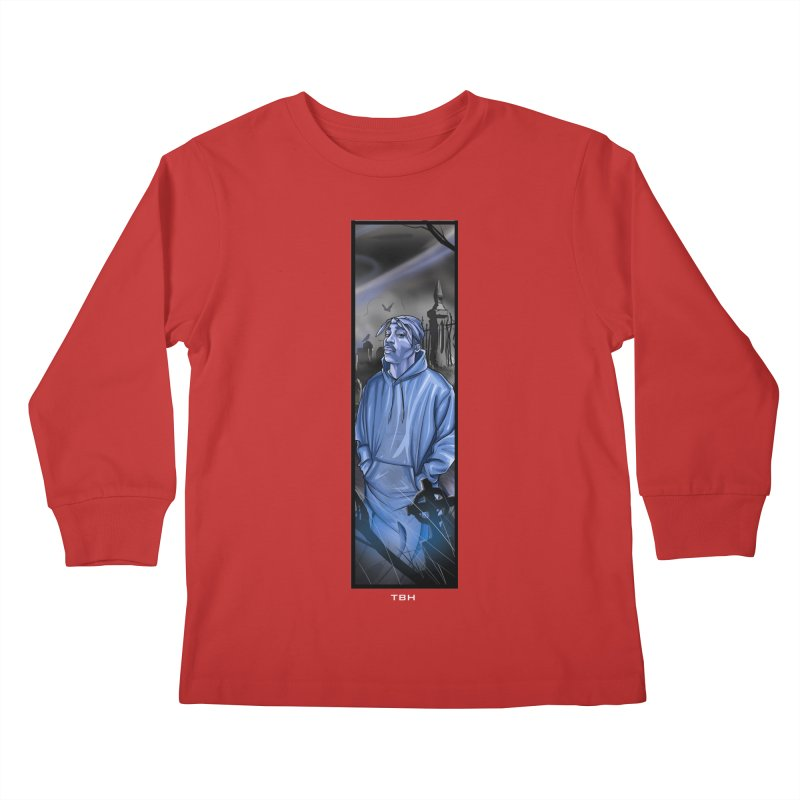 PACS GHOST Kids Longsleeve T-Shirt by TBH805