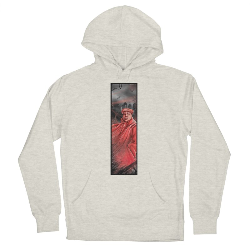 BIGGIES GHOST Women's French Terry Pullover Hoody by TBH805