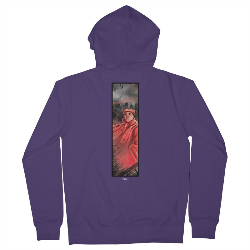 BIGGIES GHOST Women's French Terry Zip-Up Hoody by TBH805