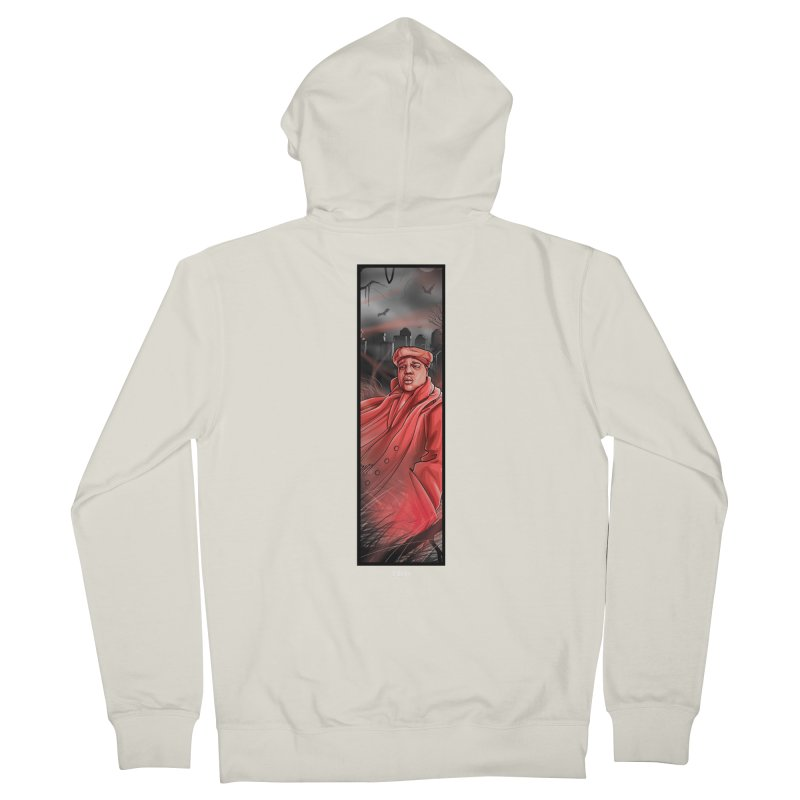 BIGGIES GHOST Men's French Terry Zip-Up Hoody by TBH805