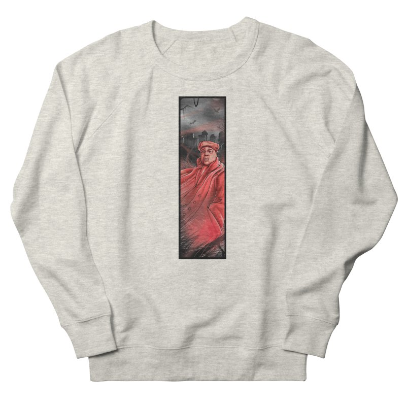 BIGGIES GHOST Men's French Terry Sweatshirt by TBH805