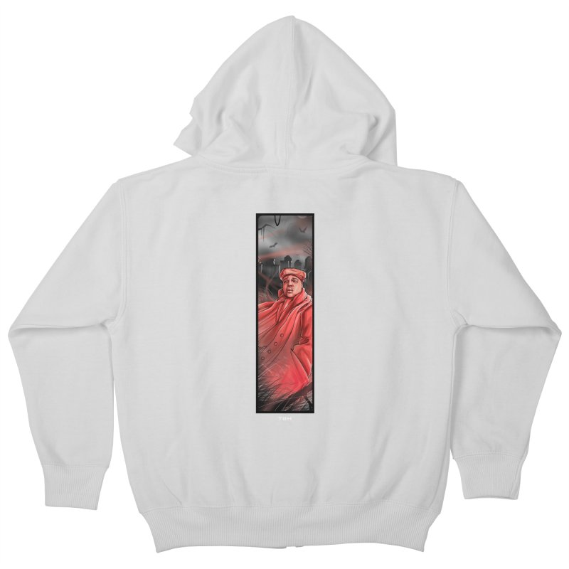 BIGGIES GHOST Kids Zip-Up Hoody by TBH805
