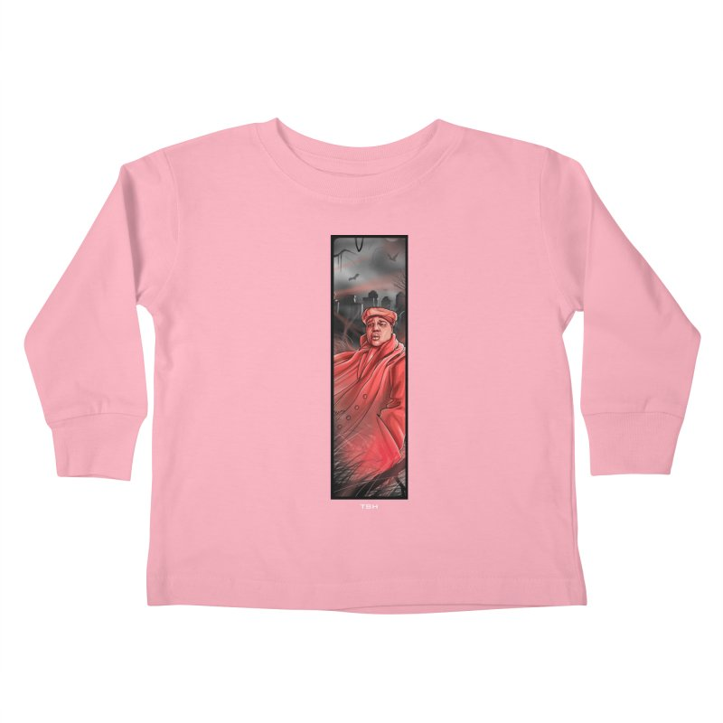 BIGGIES GHOST Kids Toddler Longsleeve T-Shirt by TBH805