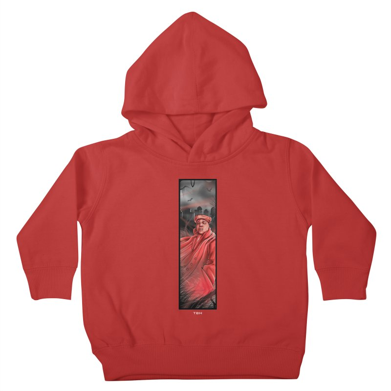 BIGGIES GHOST Kids Toddler Pullover Hoody by TBH805
