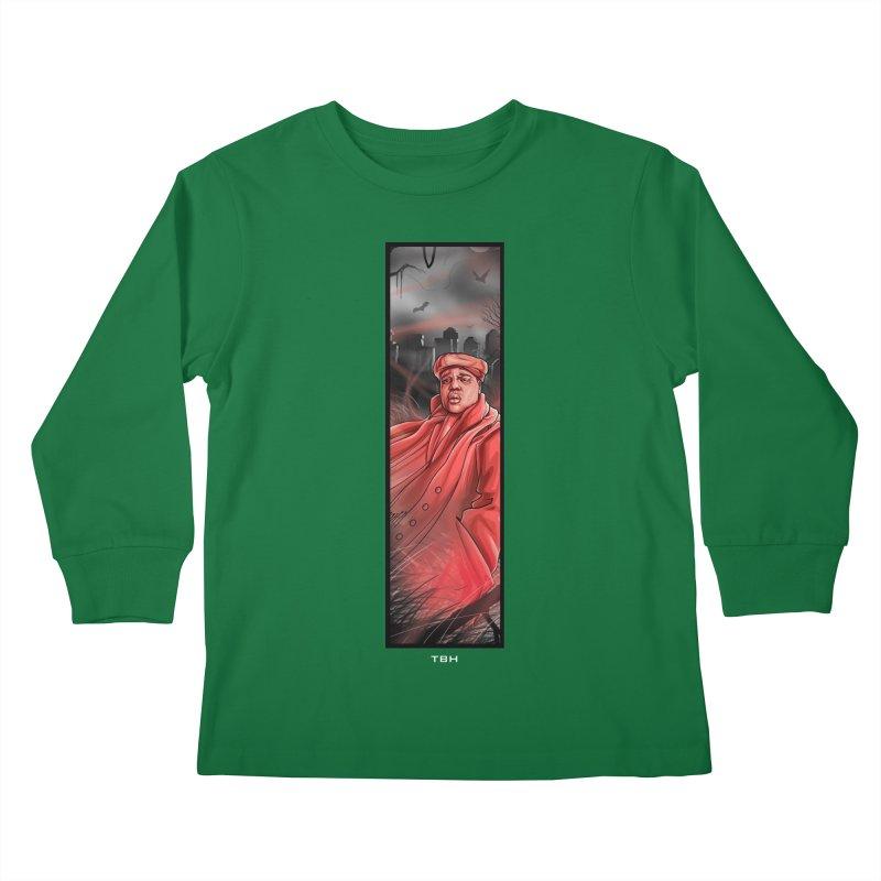 BIGGIES GHOST Kids Longsleeve T-Shirt by TBH805