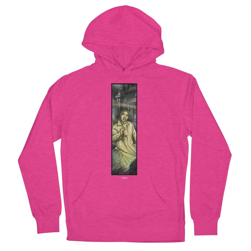 OL DIRTYS GHOST Women's French Terry Pullover Hoody by TBH805