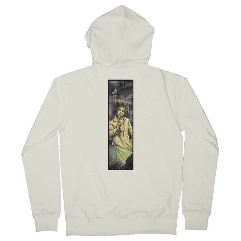 OL DIRTYS GHOST Women's French Terry Zip-Up Hoody by TBH805