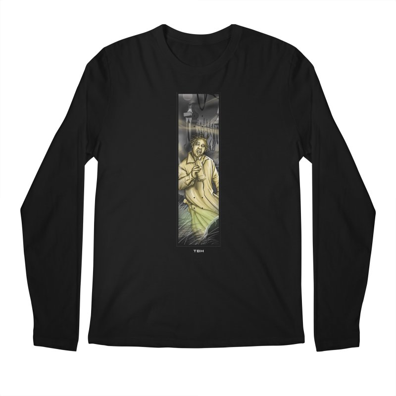 OL DIRTYS GHOST Men's Longsleeve T-Shirt by TBH805