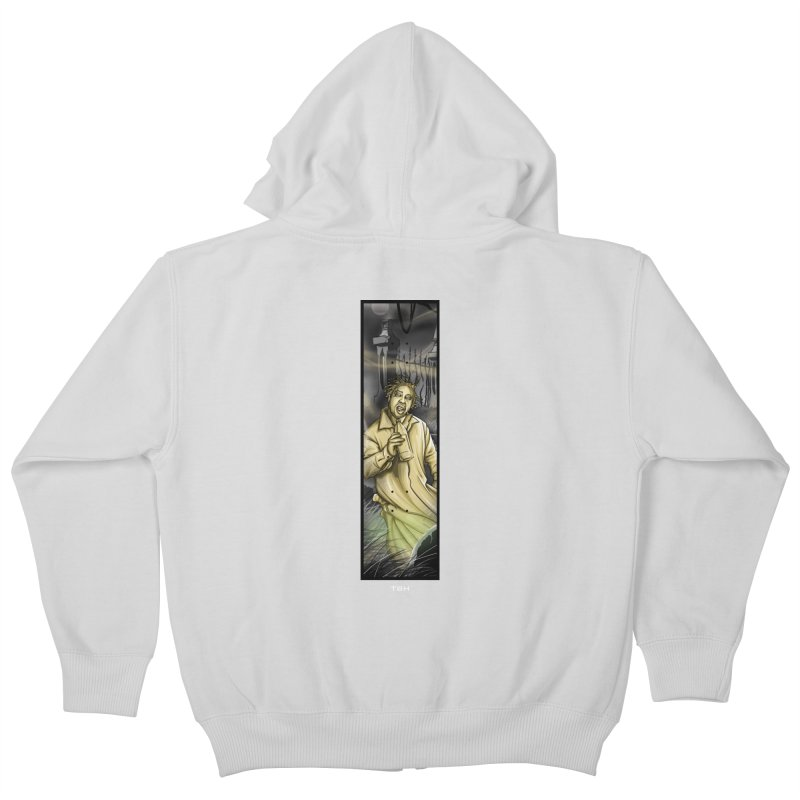 OL DIRTYS GHOST Kids Zip-Up Hoody by TBH805