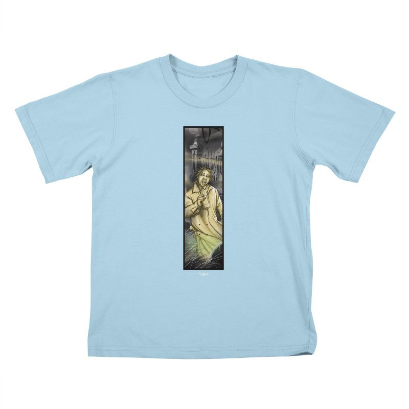OL DIRTYS GHOST Kids T-Shirt by TBH805