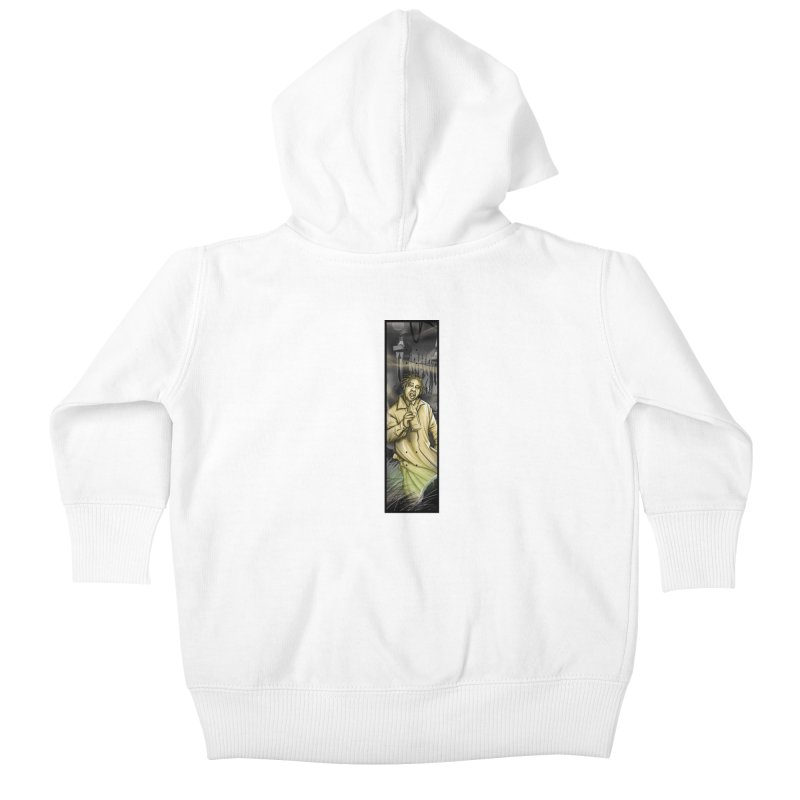 OL DIRTYS GHOST Kids Baby Zip-Up Hoody by TBH805