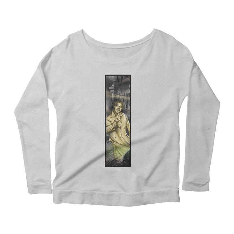 OL DIRTYS GHOST Women's Scoop Neck Longsleeve T-Shirt by TBH805