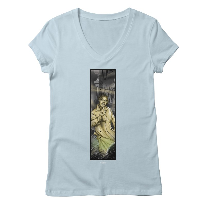 OL DIRTYS GHOST Women's V-Neck by TBH805