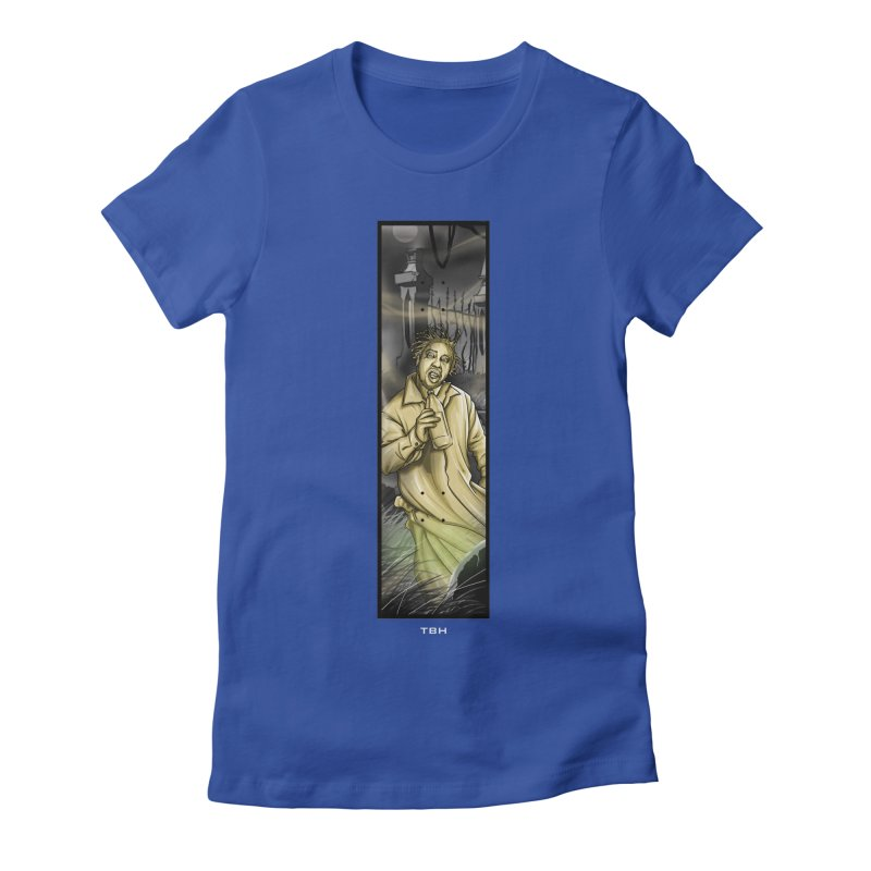 OL DIRTYS GHOST Women's Fitted T-Shirt by TBH805