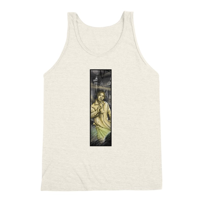 OL DIRTYS GHOST Men's Triblend Tank by TBH805