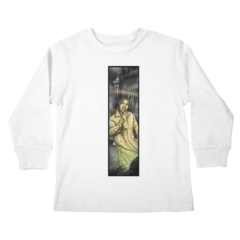 OL DIRTYS GHOST Kids Longsleeve T-Shirt by TBH805