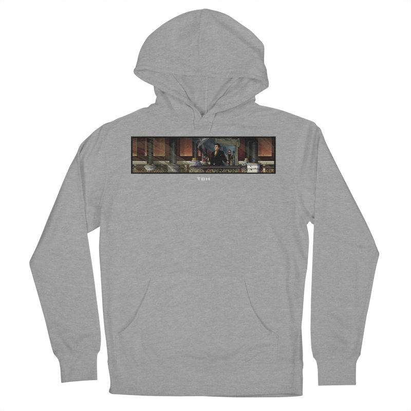 ENDER Men's French Terry Pullover Hoody by TBH805