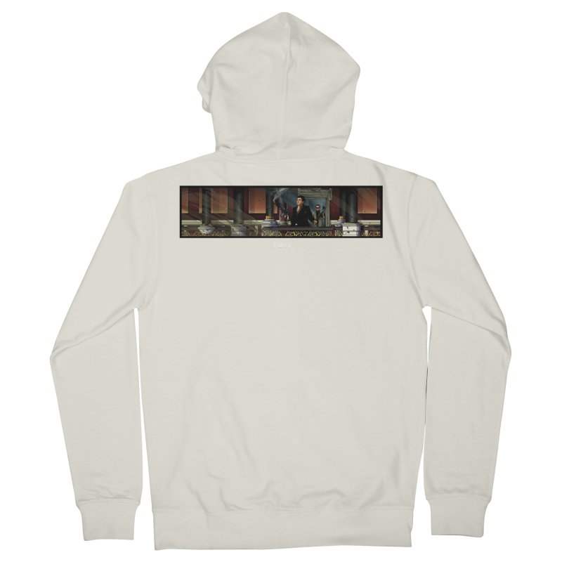 ENDER Men's French Terry Zip-Up Hoody by TBH805