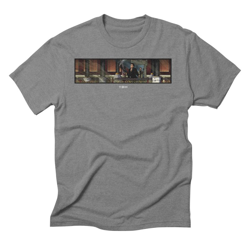 ENDER Men's Triblend T-shirt by TBH805