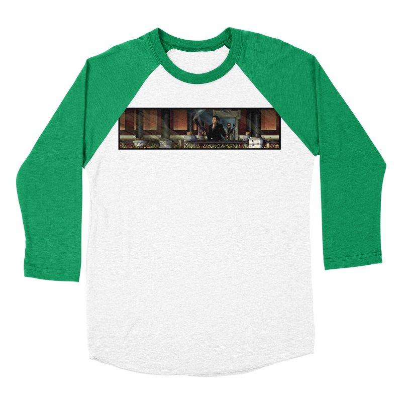 ENDER Women's Baseball Triblend Longsleeve T-Shirt by TBH805