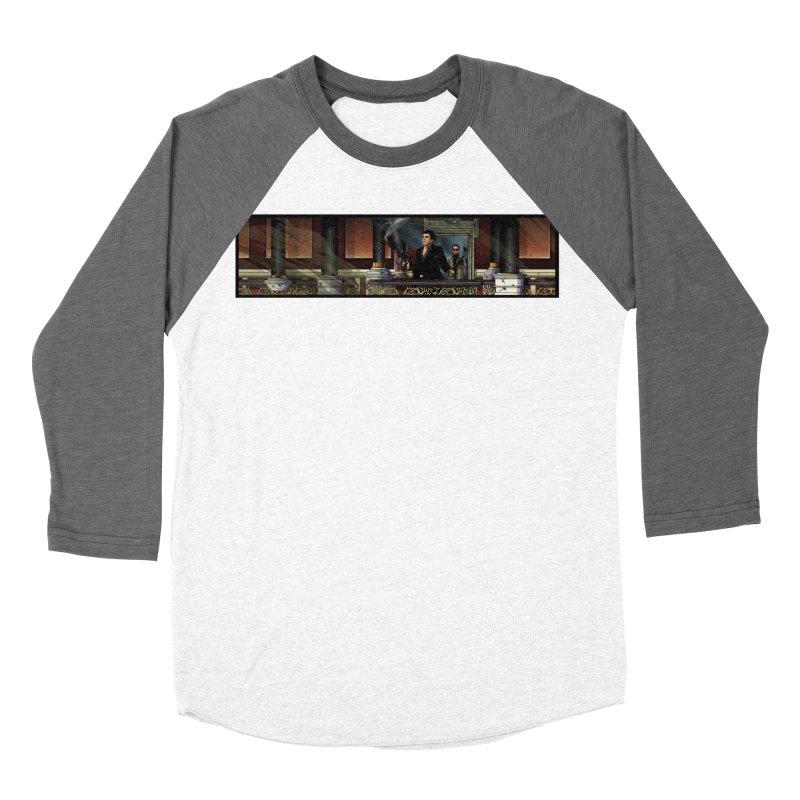 ENDER Men's Baseball Triblend Longsleeve T-Shirt by TBH805