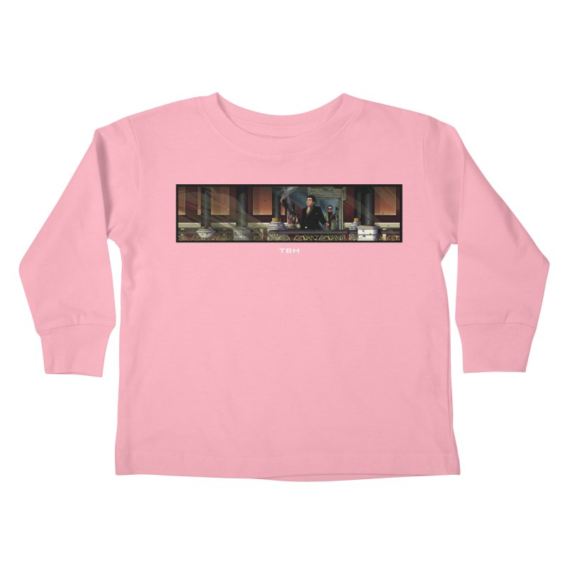 ENDER Kids Toddler Longsleeve T-Shirt by TBH805