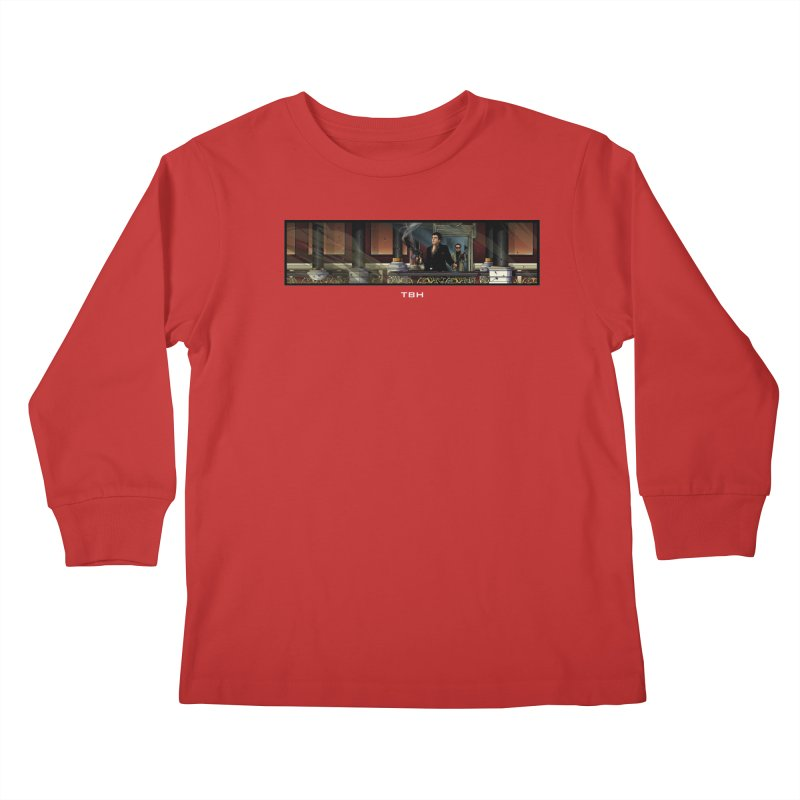 ENDER Kids Longsleeve T-Shirt by TBH805