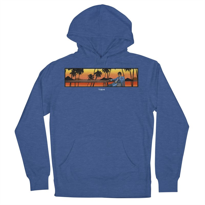 TONY 2 Men's French Terry Pullover Hoody by TBH805