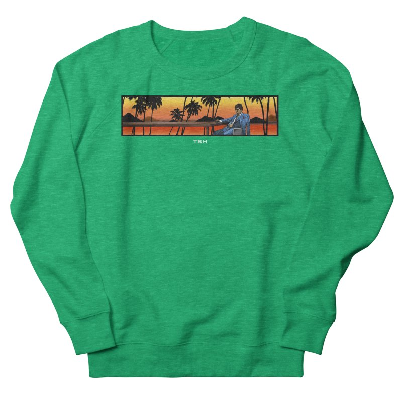 TONY 2 Men's French Terry Sweatshirt by TBH805