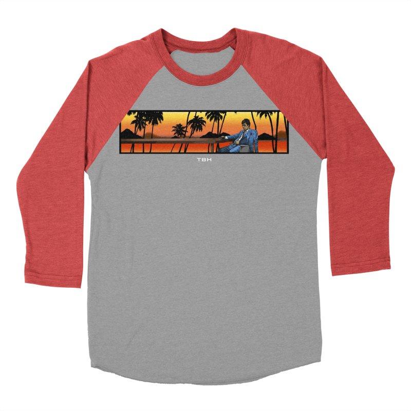 TONY 2 Women's Baseball Triblend Longsleeve T-Shirt by TBH805