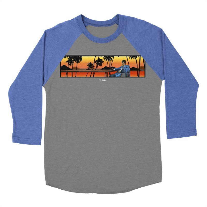 TONY 2 Men's Baseball Triblend T-Shirt by TBH805