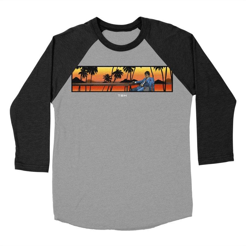 TONY 2 Men's Baseball Triblend Longsleeve T-Shirt by TBH805